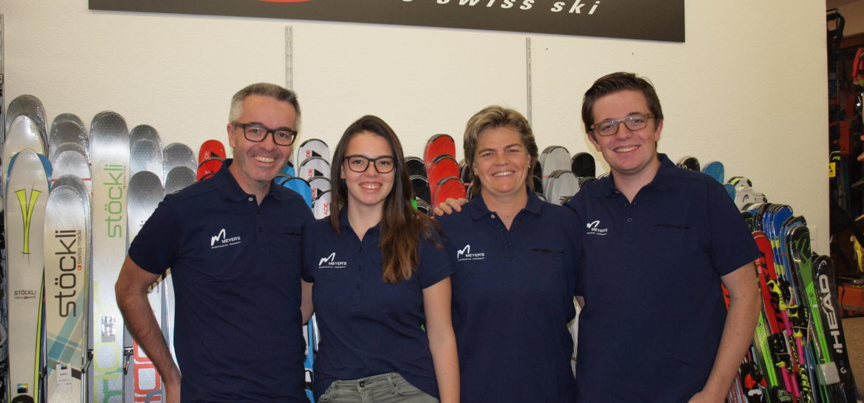 Familie Portmann vom Meyers Sporthaus in Andermatt