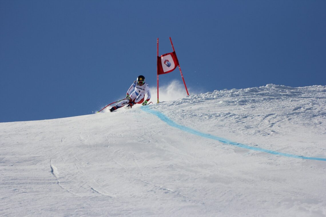 Die Franz-Heinzer-Piste ist eine Rennpiste, auf der die grossen Ski-Asse trainieren.
