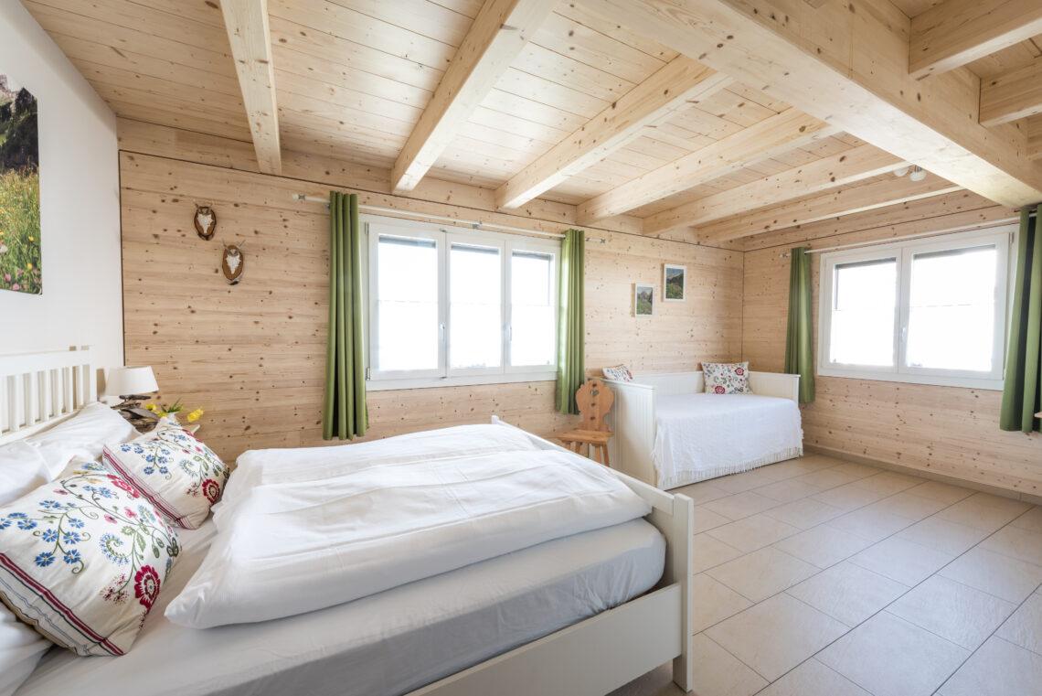 Das Bed & Breakfast Swiss Seasons in Schongau verspricht gemütliche Sommerferien.