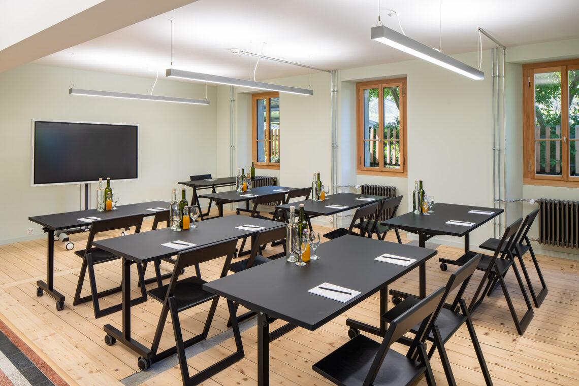 Seminarraum im CULINARIUM ALPINUM in Stans.
