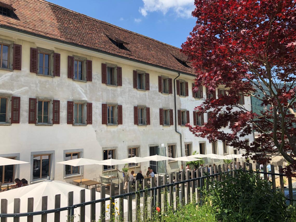 Im Kloster in Stans findet das CILINARIUM ALPINUM statt.